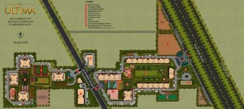 DLF Ultima Phase 2 site plan