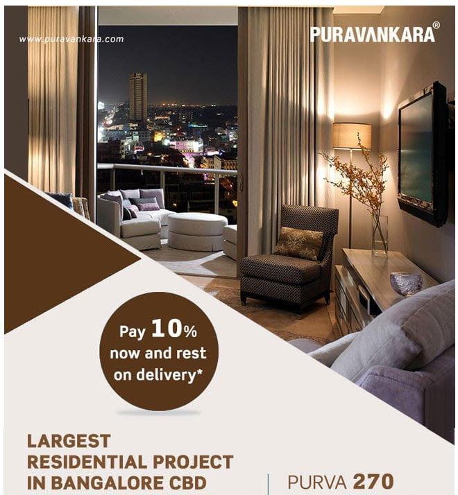 PURVA 270   PURVA 270 Degrees Bangluru   Premium 2 & 3 BHK Apartments in Bangalore