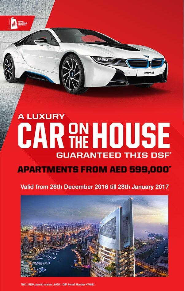 Promotion for dec 2016 DAMAC PROPERTIES DUBAI