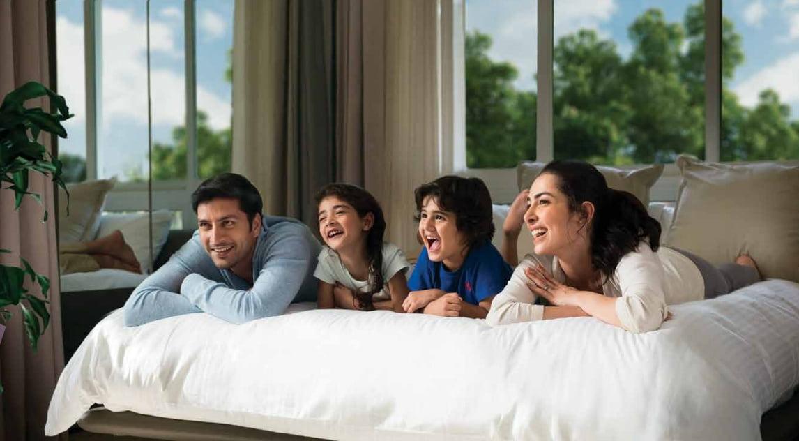 Piramal Vaikunth Phase II Vahin & Vrisa family