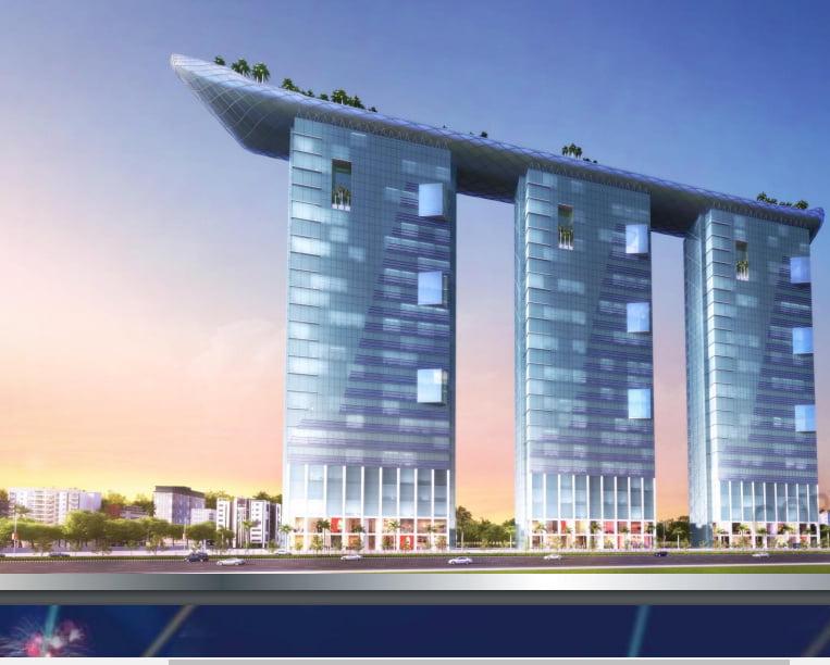 Alphathum Noida.12 percent assured returns site elevation
