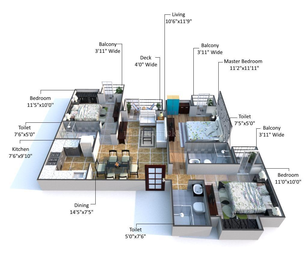 floor-plan-dlf-capital-greens-new-delhi-call-9958959555