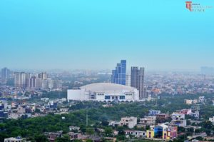 Actual picture of site omaxe site pictures - omaxe connaught place greater noida call 9958959555