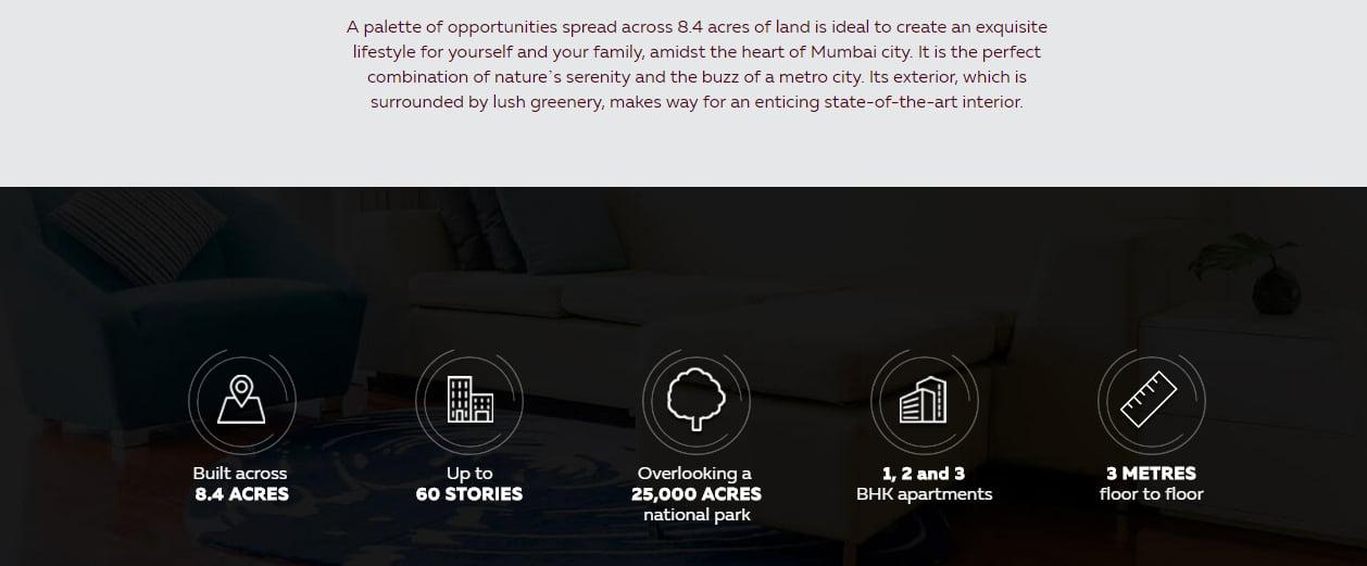 Piramal revanta Project USP features