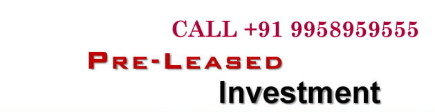 pre leased rented property delhi ncr