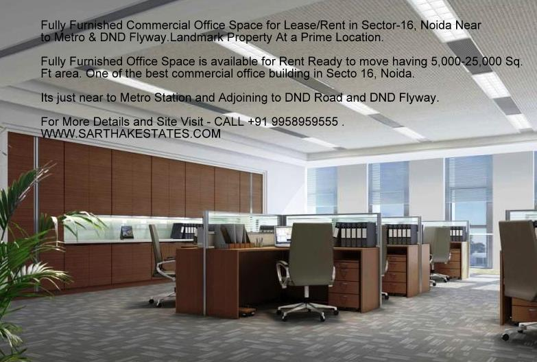 fully furnished building for rent in noida