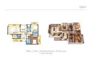 sikka krissh greens floor plans