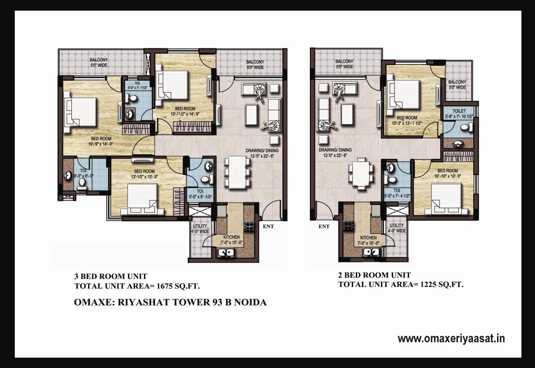 Riyasat omaxe unit plan