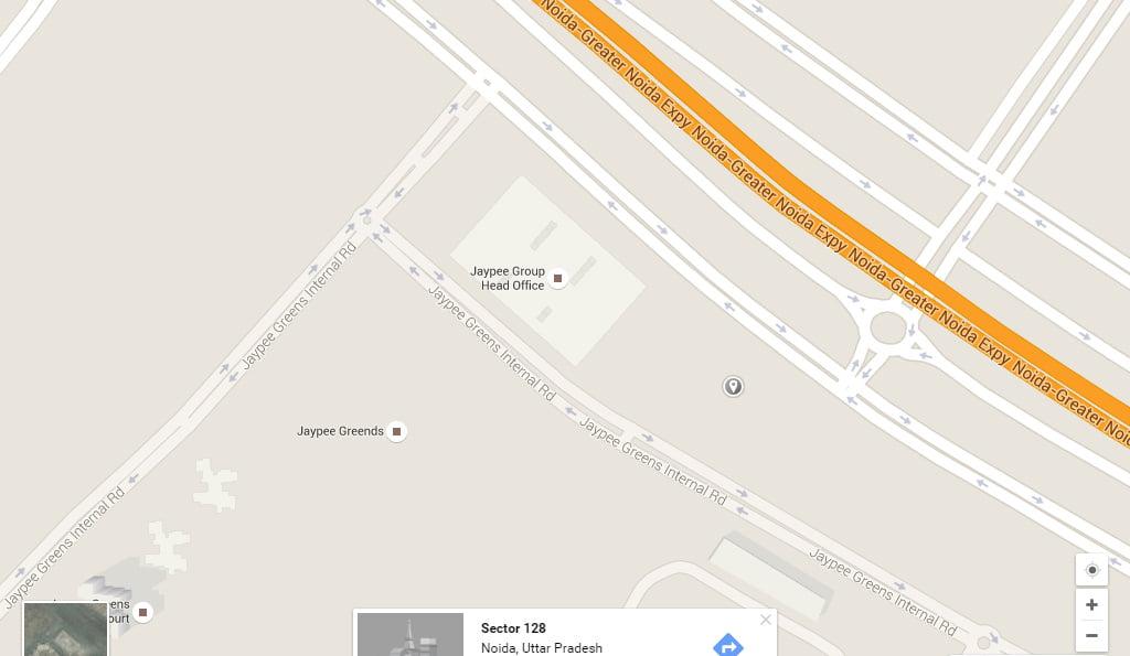 WTC CBD NOIDA LOCATION MAP