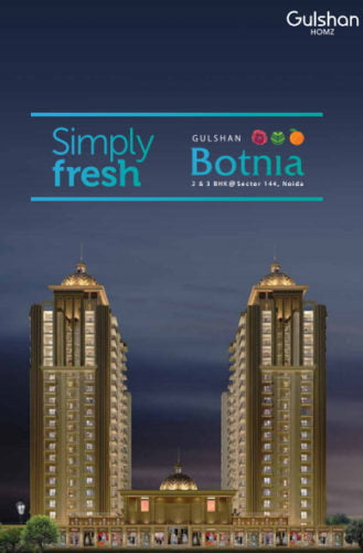GULSHAN BOTNIASector 144 Noida call 9958959555 Project Elevation
