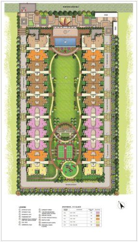 Gulshan Botnia Site Plan
