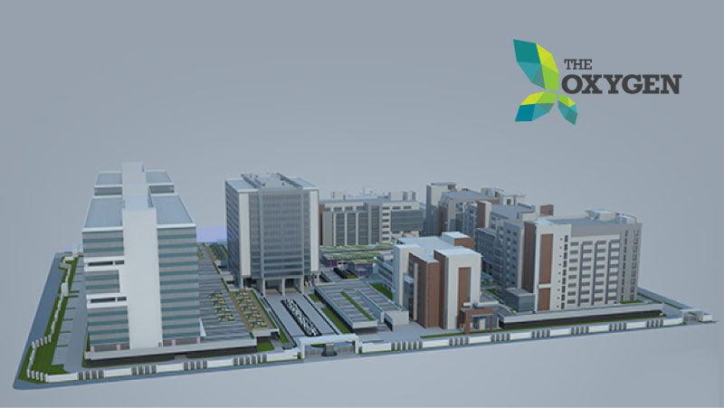 Oxygen Business Park- Noida Expressway