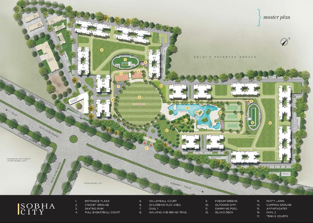 Sobha CitY Sobha City Gurgaon, Sobha City Sector 108 Gurgaon, Sobha City Dwarka Expressway