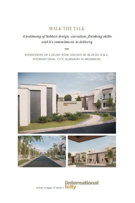 Sobha City Gurgaon, Sobha City Sector 108 Gurgaon, Sobha City Dwarka Expressway