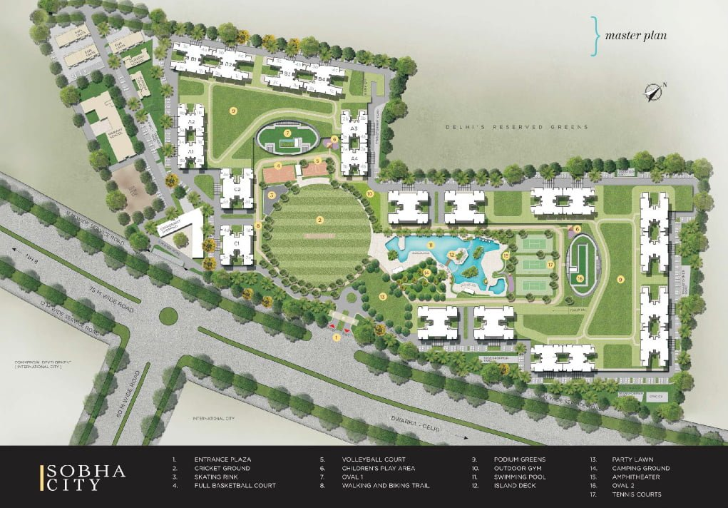 , Sobha City Sector 108 Gurgaon, Sobha City Dwarka Expressway