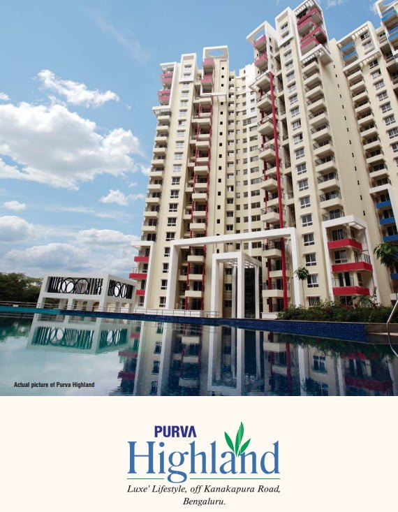 Purva Highland Kanakpur Road  Bangalore CALL 9958959555