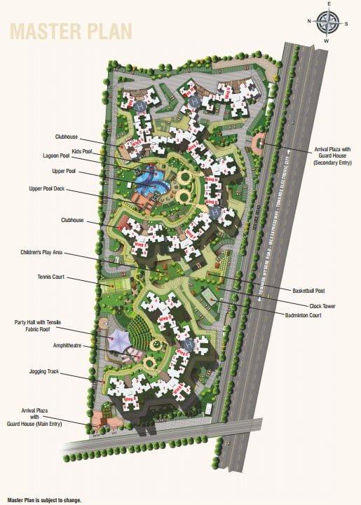 Purva Highland Kanakpur Road  Bangalore Master plan