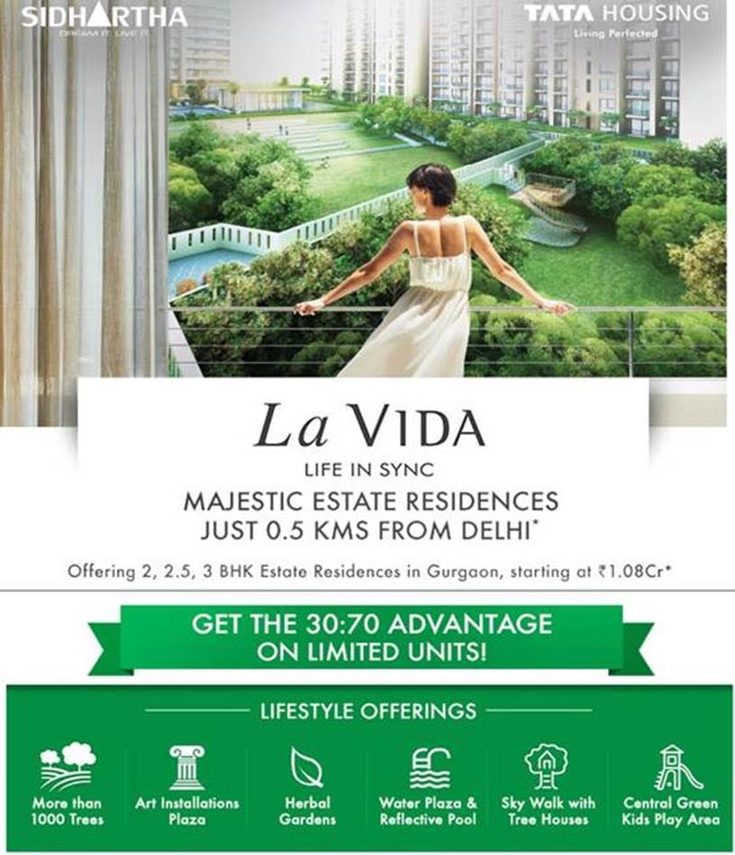 TATA Housing - LA VIDA, Sec-113, Gurgaon (0.5 km from Delhi)