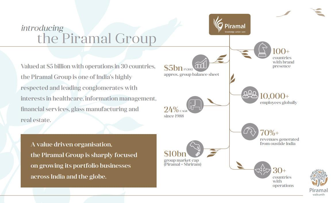 Piramal Vaikunth Phase II Vahin & Vrisa