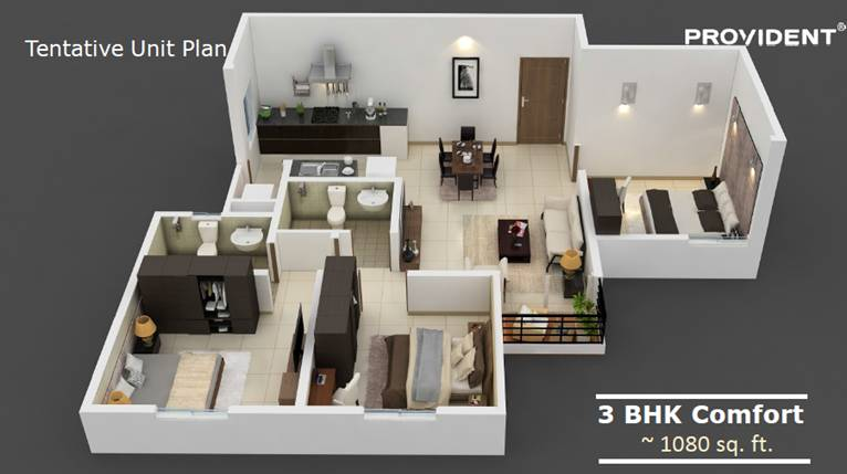 Pre Launching Provident Call 9958959555 Rising City