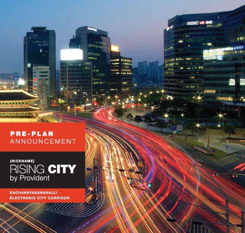 Provident Rising City call 9958959555