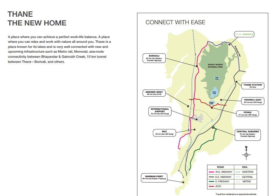 Godrej Properties Thane CALL 09958959555 Location