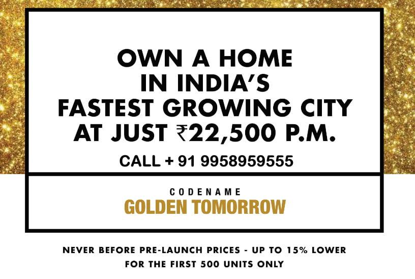 LODHA Codename Golden Tomorrow CALL 9958959555 THANE