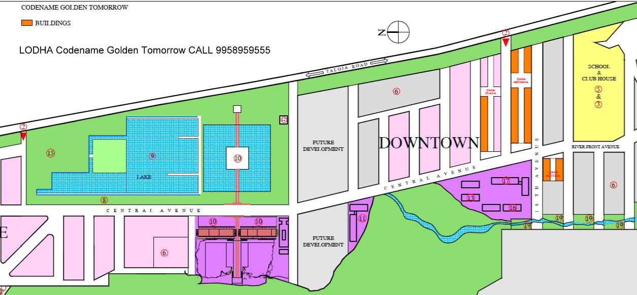 LODHA Codename Golden Tomorrow CALL 9958959555
