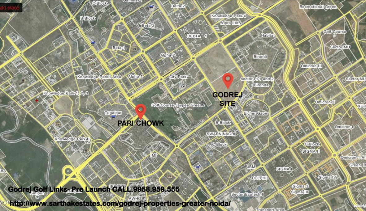 godrej-golf-links-pre-launch-call-9958-959-555-location-map-greater-noida