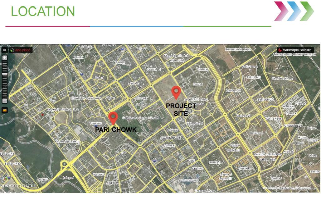 godrej-properties-sector-27-greater-noida-call-09958959555-location