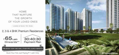 Godrej Nurture Home that nurture the growth of your loved ones at Sector 150, Noida Presenting 2, 3 & 4 Bedroom Residences with 'Child-Centric Amenities' Starting from ₹65 Lakhs* Book Your Flat by Only Paying ₹1 Lakh at 30:40:30 Payment Plan (for first 100 bookings only) Subvention Plan Available (at extra cost) Pre-book Today and Save upto ₹50,000 ☛This project is approved by UPRERA RERA Reg Number - UPRERAPRJ17861 PROJECT HIGHLIGHTS:- LOCATION & CONNECTIVITY ICONIC TOWER EXCLUSIVE PRIVILEGES SECURITY ✔ Signal-free connectivity to Delhi ✔ Italian Marble Flooring ✔ Luxury Concierge Services ✔ 5 TIER SECURITY ✔ Close proximity to upcoming Metro Station ✔ Modular Kitchen with Built-in Appliances ✔ Branded Gym ✔ Seamless Connectivity from proposed International Airport ✔ Air-Conditioned Residences ✔ Music and Dance Classes ✔ Uninterrupted Views ✔ E-library