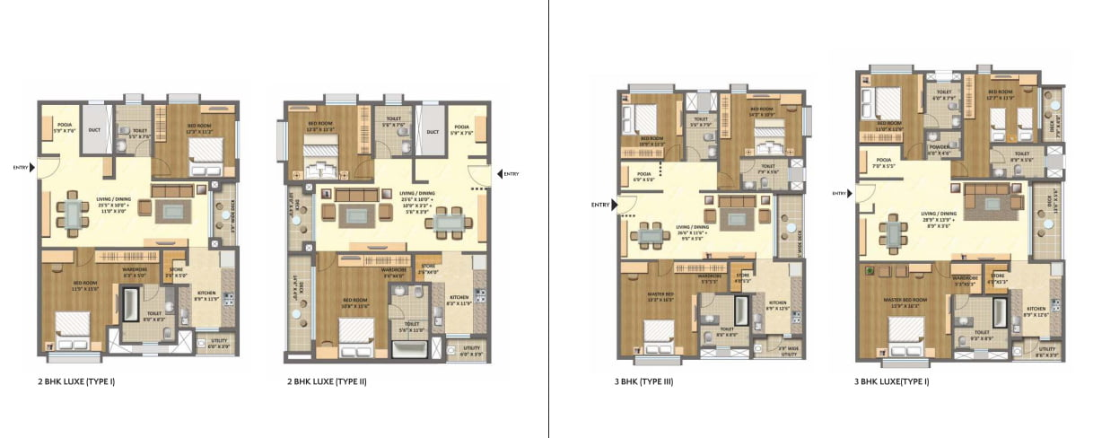 lodha-meridian-hitech-city-hyderabad-call-09958959555-cluster-plans