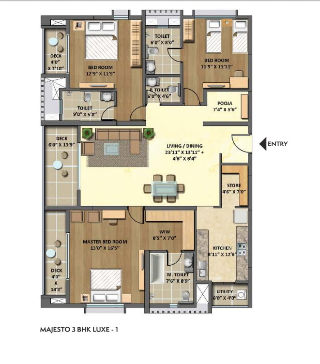lodha-meridian-hitech-city-hyderabad-floor-plans