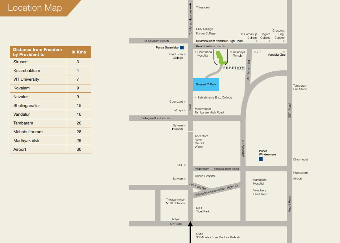 freedom-provident-siruseri-it-park-omr-chennai-location-map