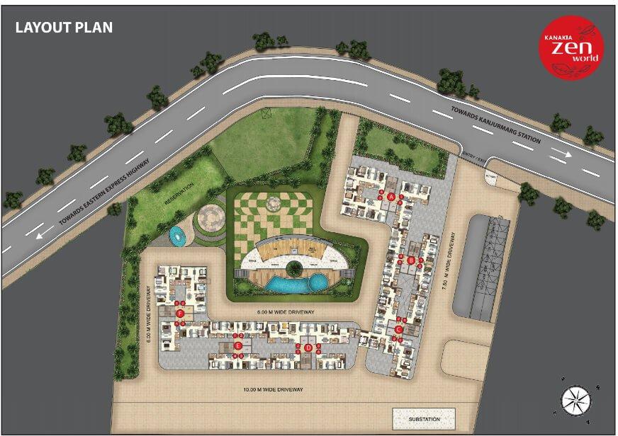 kanakia-zenworld-kanjurmarg-layout-plan