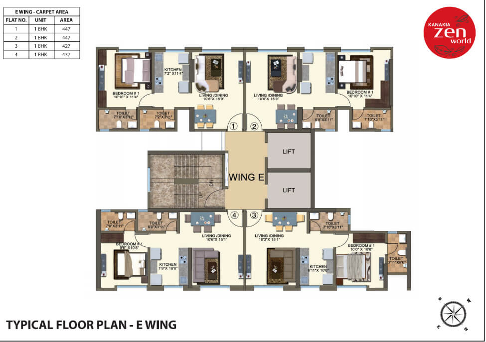 kanakia-zenworld-kanjurmarg-typical-floor-plan-e-wing
