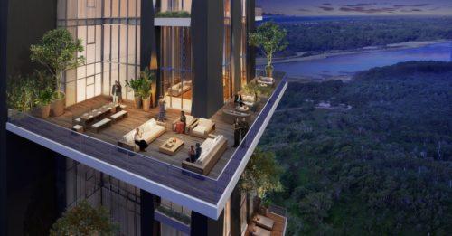 INDIABULLS SKY Lower Parel terrace view call 9958959555