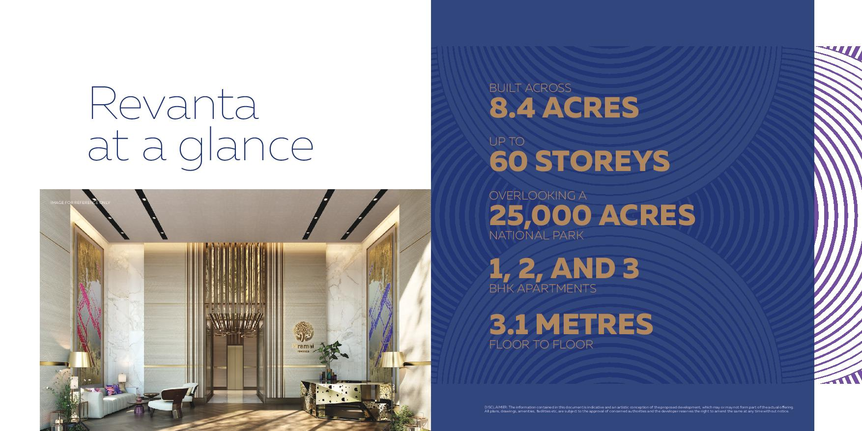 Piramal group piramal realty Revanta at a glance revamta