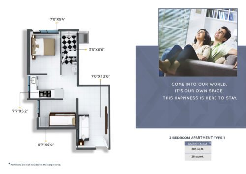 CRYSTAL, XRBIA TO DEVELOP AFFORDABLE HOMES IN CHEMBUR Crystal, Xrbia Chembur floor plan 2bhk-2bhk-2bhk-type-1
