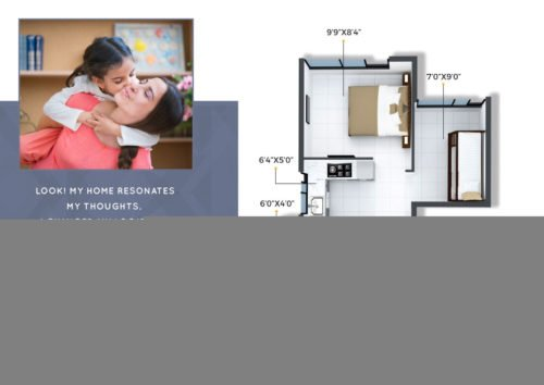 CRYSTAL, XRBIA TO DEVELOP AFFORDABLE HOMES IN CHEMBUR Crystal, Xrbia Chembur floor plan 2bhk-2bhk-type-2