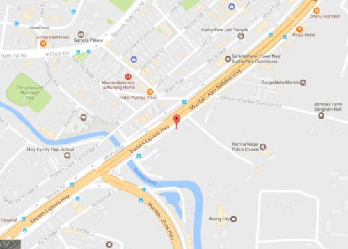 LOCATION MAP CHEMBUR CENTRAL CRYSTAL Xrbia