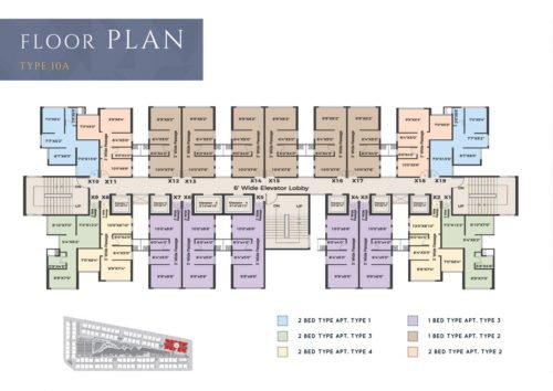 Floor plans XRBIA CRYSTAL,CHEMBUR type-10