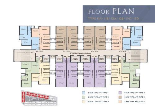 Floor plans XRBIA CRYSTAL,CHEMBUR type-11-13