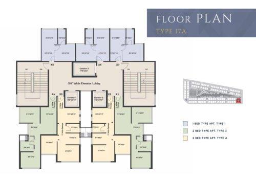 Floor plans XRBIA CRYSTAL,CHEMBUR type-17