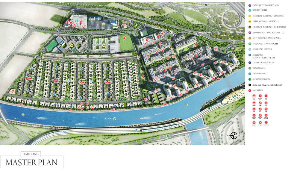 Sobha Group, Hartland Aflux, Sobha Hartland Greens Phase III master plan