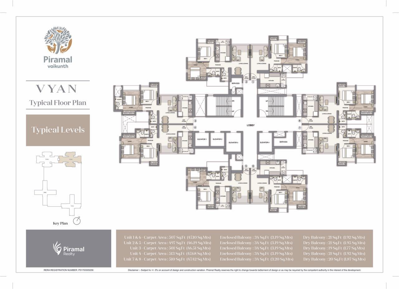 vyan floor plans 1