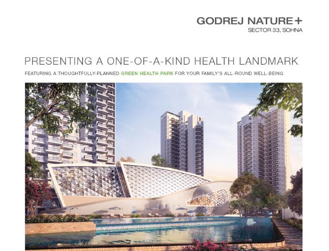 Godrej Nature+ Sec 33, Sohna , Gurugram