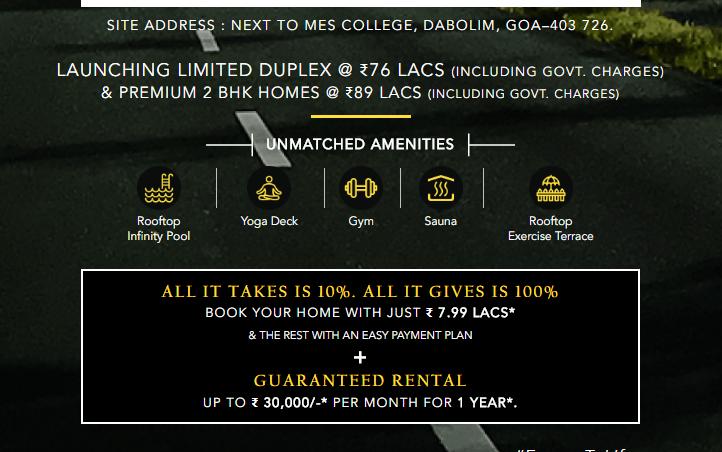 THDC Goa - Premium 2 BHK homes for sale in Goa