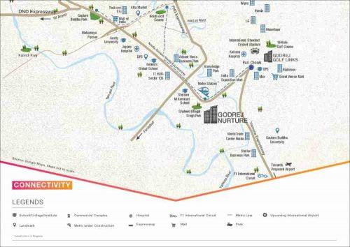Godrejs Nurture Sec 150 Noida CALL 9958959555 location_map.