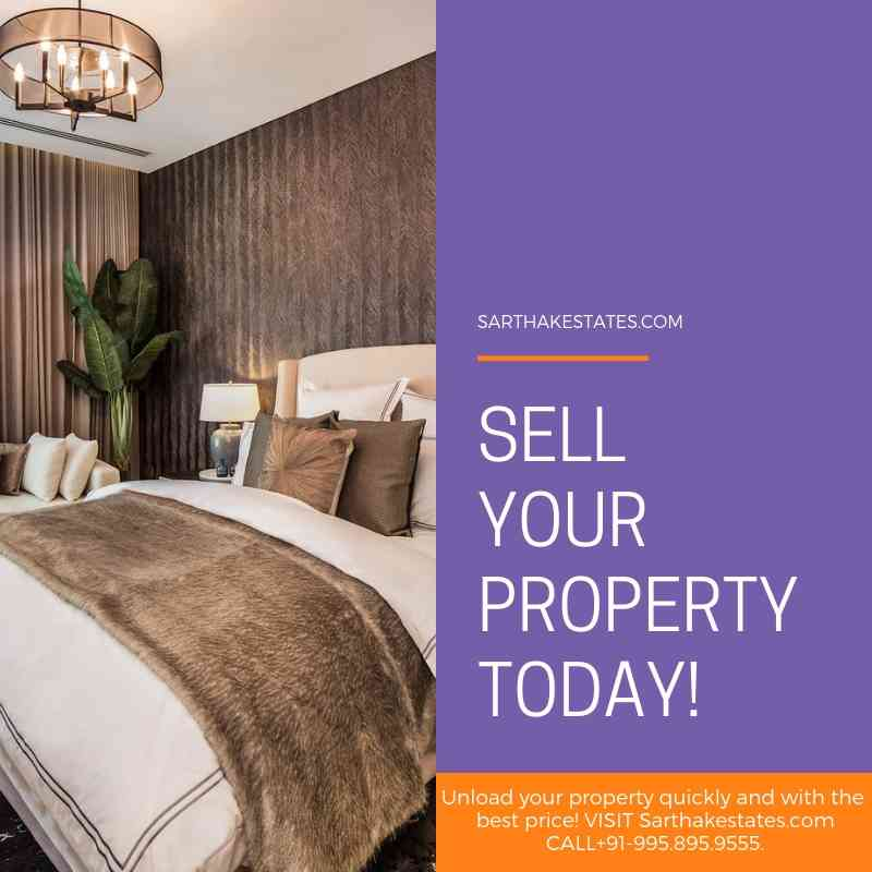 Sell your property today!CALL+919958959555